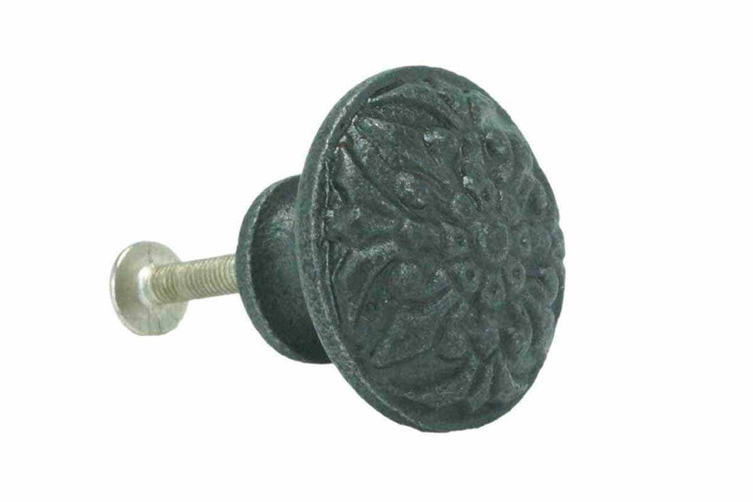 BK-122 Cast Iron Knob in Three Sizes-Antique Hardware & More LLC