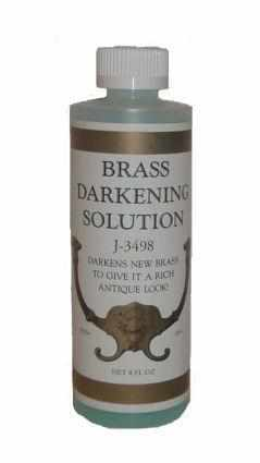 Brass- Metal Darkening Solution 2 Fluid Oz. C-102-Antique Hardware & More LLC