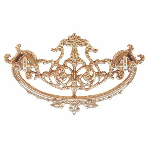 Brass Victorian American Oak Drawer Pull DP-193-Antique Hardware & More LLC