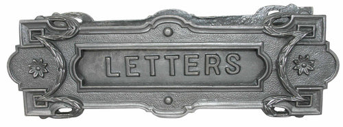 Cast Iron Letter Mail Slot-Antique Hardware & More LLC