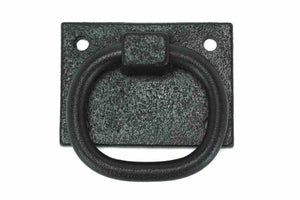 Cast Iron Shutter Ring with Back Plate SHTR-114-Antique Hardware & More LLC