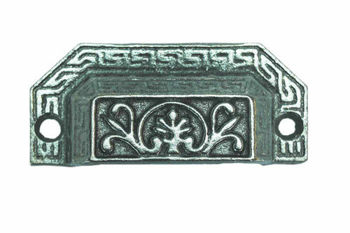 Cast Iron Victorian Style Bin Pull BP-106-Antique Hardware & More LLC