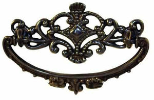 DP-115D Cast Bras Drawer Pull with Antique Finish-Antique Hardware & More LLC