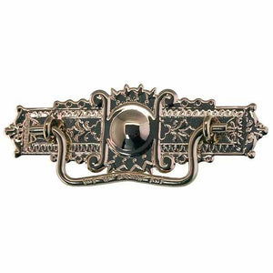 DP-124N Nickel Plated Eastlake Drawer Pull-Antique Hardware & More LLC