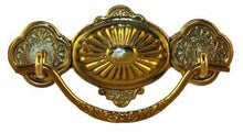 Load image into Gallery viewer, DP-125 Stamped Brass Eastlake Drawer Pull-Antique Hardware & More LLC