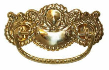 Load image into Gallery viewer, DP-128 Stamped Brass Drawer Pull-Antique Hardware & More LLC
