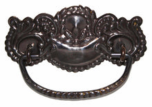 Load image into Gallery viewer, DP-128D Stamped Brass Pull with Antique Finish-Antique Hardware & More LLC