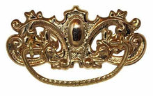Load image into Gallery viewer, DP-129 Stamped Brass Drawer Pull with Polished Finish-Antique Hardware & More LLC