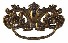 Load image into Gallery viewer, DP-129D Stamped Brass Drawer Pull with Antique Finish-Antique Hardware & More LLC