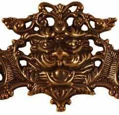 DP-143D Cast Brass Drawer Pull in an Antque Finish-Antique Hardware & More LLC