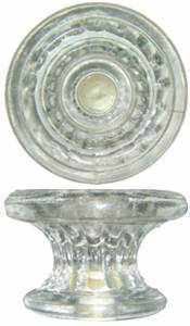 Empire Glass Knob Large GK-105-Antique Hardware & More LLC