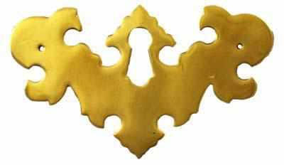 KH-120 Brass Keyhole Cover-Antique Hardware & More LLC