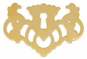 KH-127 - Chippendale Keyhole Cover-Antique Hardware & More LLC