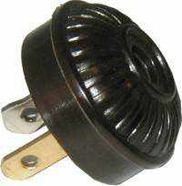 Load image into Gallery viewer, Mid Century Lamp Plug with Ridges LMP-103-Antique Hardware & More LLC