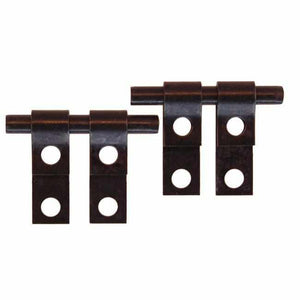 Mirror Hinge in Oil Rubbed Bronze - MIR-114-Antique Hardware & More LLC