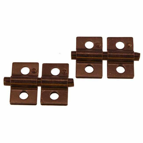 Mirror Hinge in Oil Rubbed Bronze - MIR-115-Antique Hardware & More LLC
