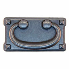 Load image into Gallery viewer, Mission Style Pull in Antique Pewter DP-190-Antique Hardware & More LLC
