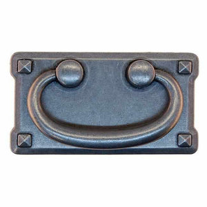 Mission Style Pull in Antique Pewter DP-190-Antique Hardware & More LLC
