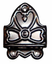 Load image into Gallery viewer, Offset Stamped Steel Trunk Clamp T-116-Antique Hardware & More LLC
