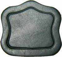 Load image into Gallery viewer, Small Black Trunk Lid Cover T-283B-Antique Hardware & More LLC