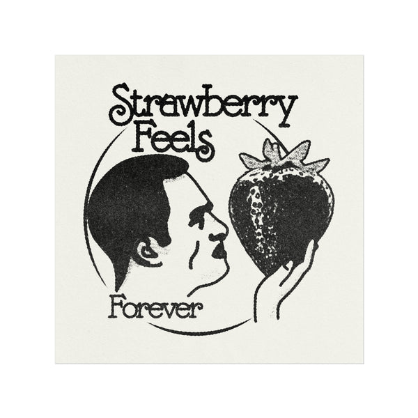 "STRAWBERRY FEELS 12"" PRINT"