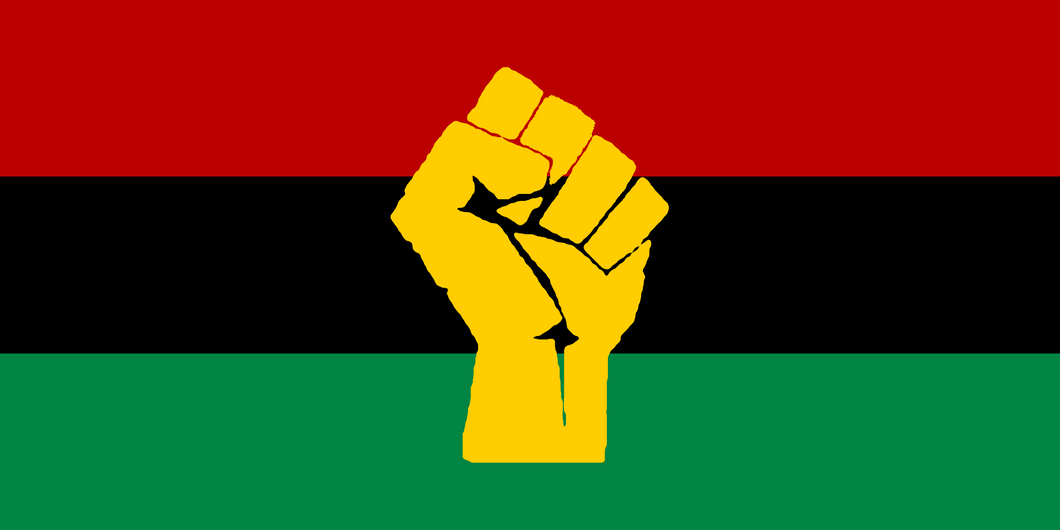 Pan-Afrikan flag for decoration
