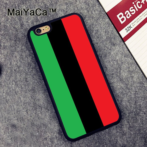 Pan African Flag Mobile Phone Case For iPhone  Cover