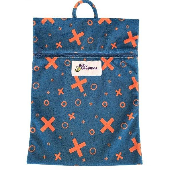 Baby Beehinds Wetbag - Tic,Tac,Toe - Ecotree Baby Boutique