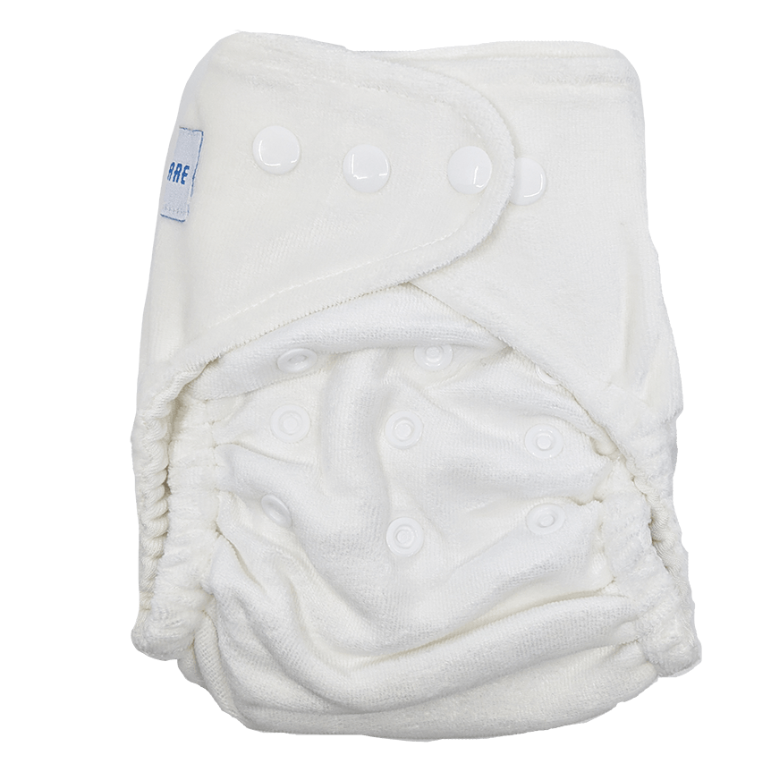 Baby Bare Honey Pot Fitted Nappy - Ecotree Baby Boutique
