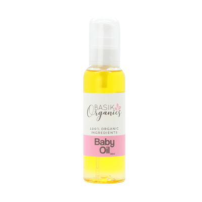 Basik Organics Baby Oil - Ecotree Baby Boutique