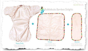 Bubblebubs Bamboo Delight 4 Pack - Ecotree Baby Boutique