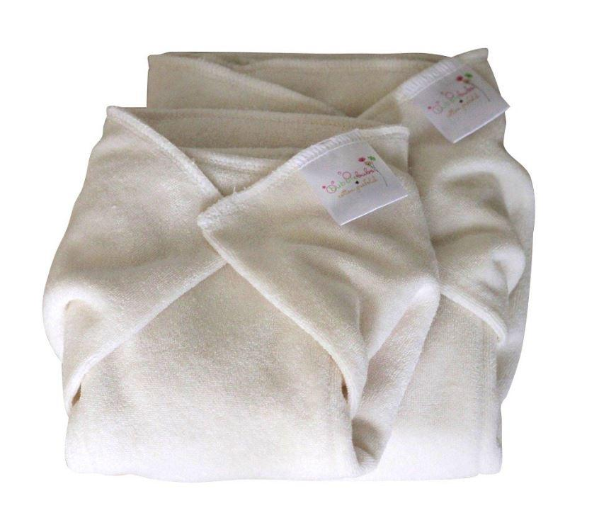 Bubblebubs Bamboo Prefolds - Small - Ecotree Baby Boutique