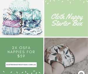 Cloth Nappy Starter Box - Ecotree Baby Boutique