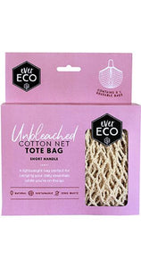 Ever Eco Organic Cotton Net Tote Bag - Short Handle - Ecotree Baby Boutique
