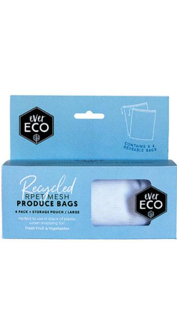 Ever Eco Reusable Produce Bags - 4 pack mesh - Ecotree Baby Boutique