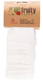 Fruity Sacks Bamboo Mesh Produce Bags - Ecotree Baby Boutique