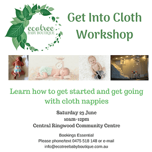 Get into cloth workshop - Ecotree Baby Boutique