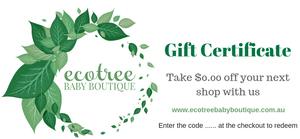 Gift Voucher - Ecotree Baby Boutique
