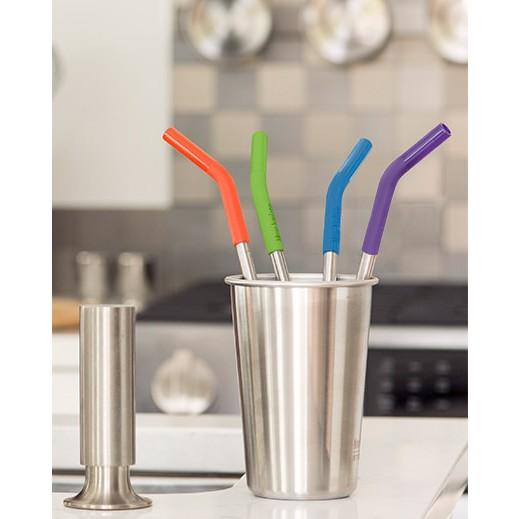 Klean Kanteen Stainless Steel Straws - 4 Pack - Ecotree Baby Boutique