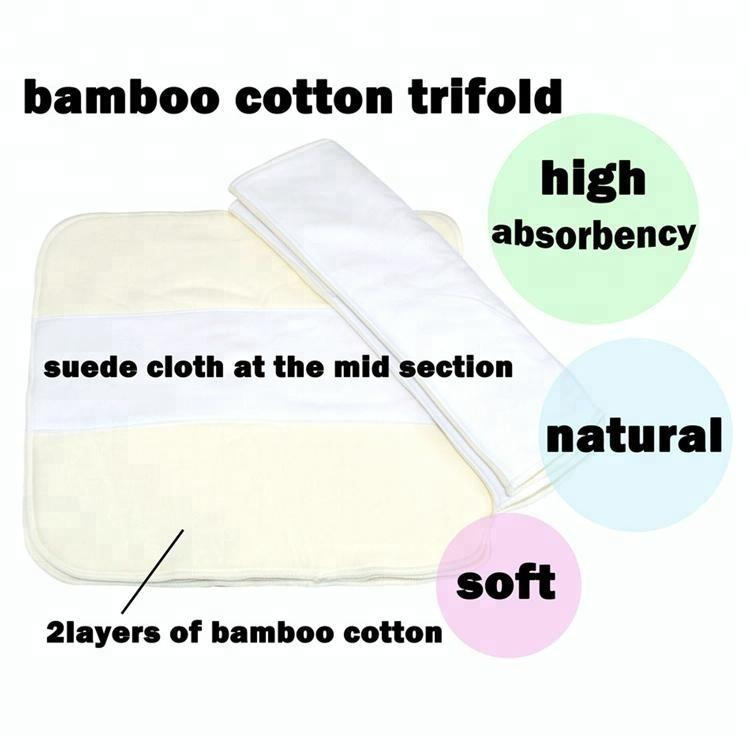 MiaBaby Bamboo Trifold - Ecotree Baby Boutique