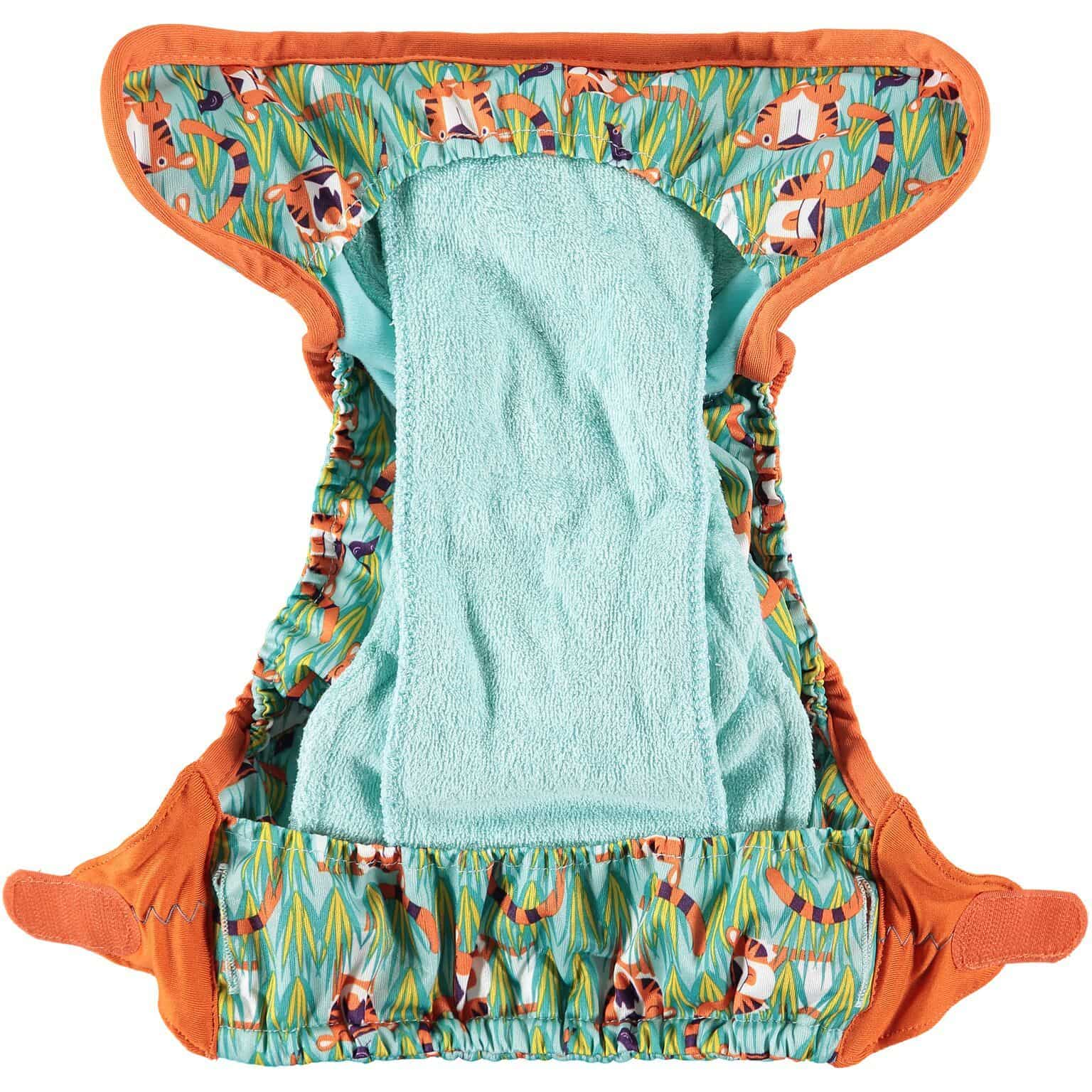 Pop In New Gen V2 Bamboo Nappy Snaps - Oswald and Bo - Ecotree Baby Boutique
