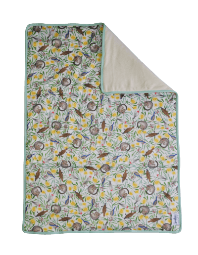 Seedling Baby Home + Go Mat - Icon Green - Ecotree Baby Boutique