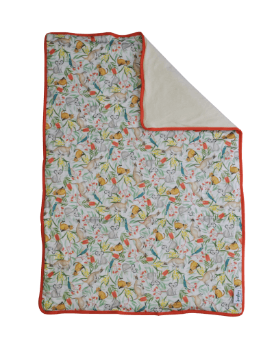 Seedling Baby Home + Go Mat - Icon Red - Ecotree Baby Boutique