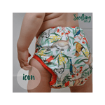 Seedling Baby Pocket Nappy - Ecotree Baby Boutique