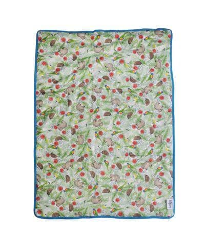 Seedling Baby Home + Go Mat - Icon Blue - Ecotree Baby Boutique