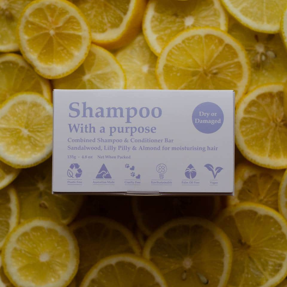 Shampoo with a purpose - Dry/Damaged Hair - Ecotree Baby Boutique