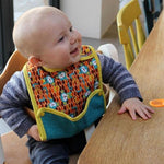 Pop In Reversible Bib Stage 2 - Ecotree Baby Boutique