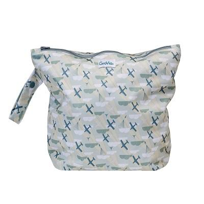 Grovia Zippered Wetbag - Ecotree Baby Boutique
