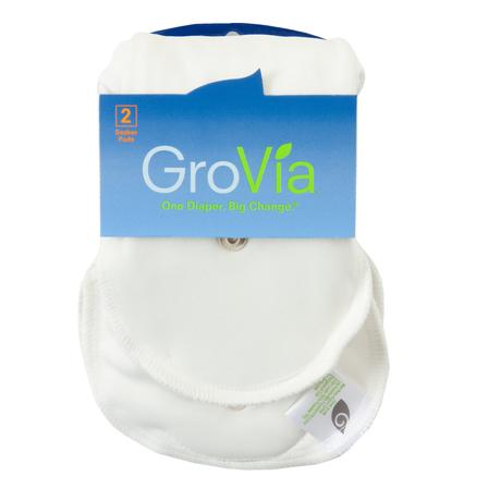 GroVia Hybrid Soaker Set - Organic Cotton - Ecotree Baby Boutique