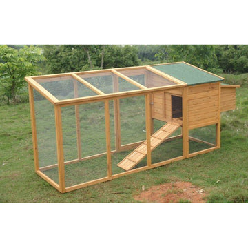 Chicken Coop with Extra Long Run - MALVERN 046